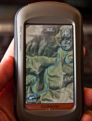 GARMIN OREGON 300t Handheld GPS Navigator / Hiking BUNDLE