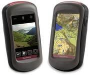 GARMIN OREGON 550t Handheld GPS Navigator / Hiking BUNDLE